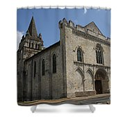 Old Church - Loire - France Shower Curtain