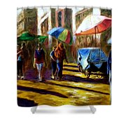 Old City Ahmedabad  Series 2 Shower Curtain