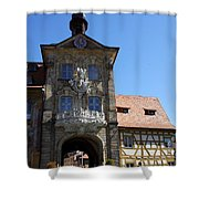 Old City Hall - Bamberg Shower Curtain