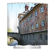 Old City Hall - Bamberg - Germany Shower Curtain