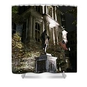 Old City Hall Shower Curtain