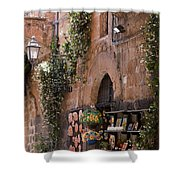Old City Shop Shower Curtain