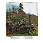 Old Cog Shower Curtain