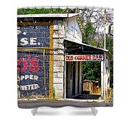 Old Corner Bar - Dayton - Nevada Shower Curtain