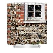 Old Cottage Window Sussex Uk Shower Curtain