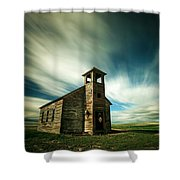 Old Cottonwood Church Shower Curtain
