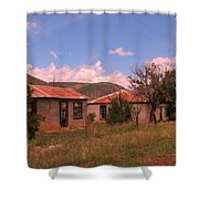 Old Country Homes Shower Curtain