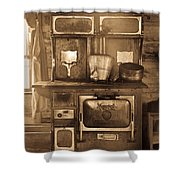 Old Country Stove Shower Curtain