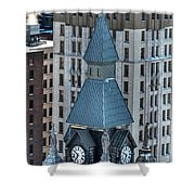 Old County Hall Winter 2013 Shower Curtain