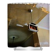 Old Court House In Evanston Wyoming - 3 Shower Curtain