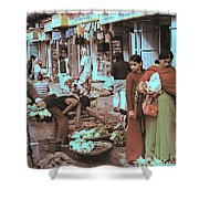 Old Delhi 1978 Shower Curtain