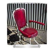 Old Dentist Chair Shower Curtain