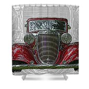 Old Desoto Shower Curtain