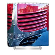 Old Dodge Truck Shower Curtain