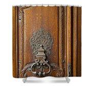 Old Door Knocker Shower Curtain