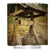 Old Draw Well Shower Curtain