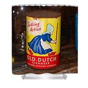 Old Dutch Shower Curtain