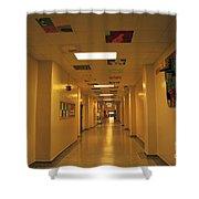 Clare Elementary School Hall Shower Curtain