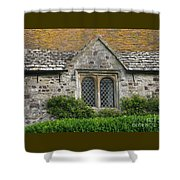 Old English Shower Curtain