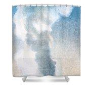 Old Faithful Geyser Yellowstone Np Shower Curtain