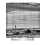 Old Farm - Baseline Road - Waterville - Waterville - Washington - May 2013 Shower Curtain