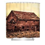 Old Farm House Shower Curtain