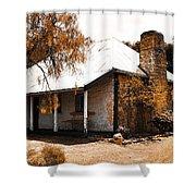 Old Farmhouse Shower Curtain