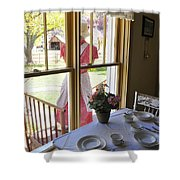 Old Fashioned Bakeshop Shower Curtain