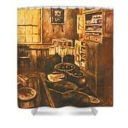 Old Fashioned Kitchen Again Shower Curtain