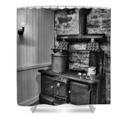 Old Fashioned Richardson And Bounton Company Perfect Stove. Shower Curtain