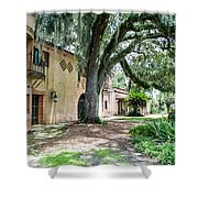 Old Florida Style II Shower Curtain