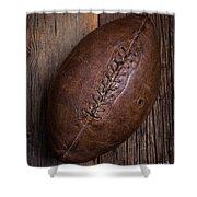 Old Football Shower Curtain