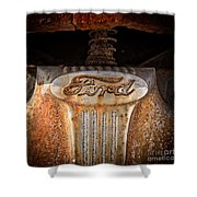 Old Ford Square Format Shower Curtain