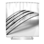 Old Fork Shower Curtain