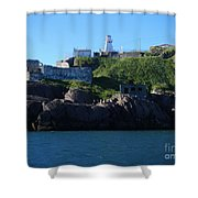 Old Fort Amherst By Barbara Griffin Shower Curtain