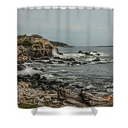 Old Fort Shower Curtain
