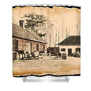 Old Fort Langley 1 Shower Curtain
