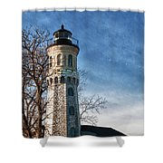 Old Fort Niagara Lighthouse 4478 Shower Curtain