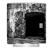 Old Fort Passway Shower Curtain