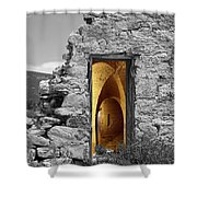 Old Fort Through The Magic Door Shower Curtain