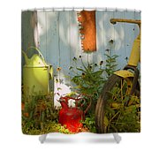 Old Friends Shower Curtain