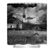 Old Georgia Farm Shower Curtain