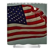 Old Glory American Flag 7 6/29 Shower Curtain