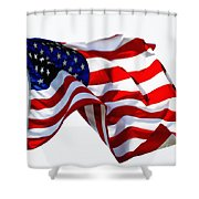 America The Beautiful Usa Shower Curtain