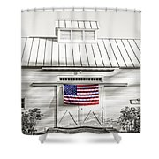 Old Glory Circa 1776 Shower Curtain