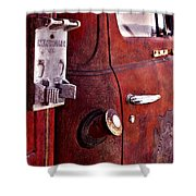 Old Glory Days Door Limited Edition Shower Curtain