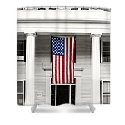 Old Glory Est. 1776 Shower Curtain