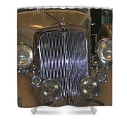 Old Grill Shower Curtain