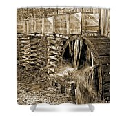 Old Grist Mill Photo Shower Curtain