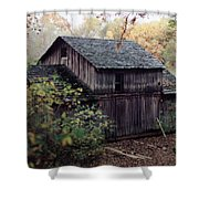 Old Grist Mill Shower Curtain by Thomas Woolworth